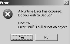 Error  - I have an error in my computer