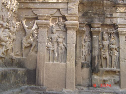 ellora caves - its a world famlus monument of ellora caves.