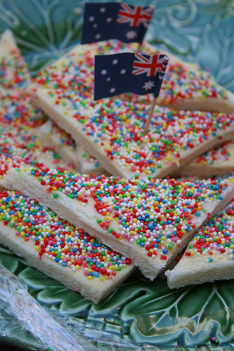 Fairy Bread - Fairy Bread bread with hundreds and thousands