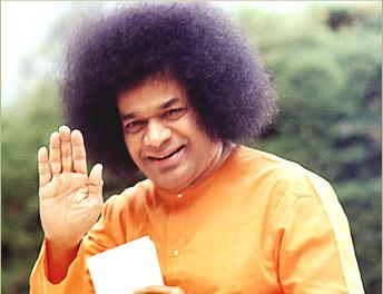 Bhagwan Shri Sathya Saibaba - A holy man.