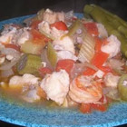 Shrimp and Catfish Gumbo - recipe for Valentine Day for seafood lovers!