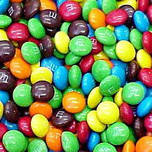 M&M's - a picture of M&M's candy