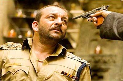 macho sanju - the latest pic of sanjay dutt from the movie eklavya