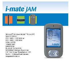 View i-mate jam - It has GSM/GPRS, Bluetooth (MFG option) 1.3 mega pixel camera. including wireless modem, etc etc. Try http://www.clubimate.com/t-DETAILS_JAMCH.aspx this link.