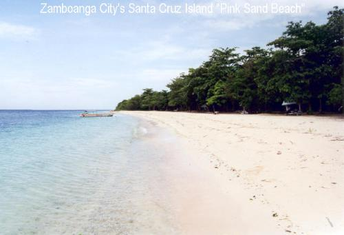 Pink Sand Beach - The pink island in Zamboanga