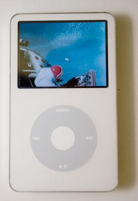 video Ipod - white video ipod