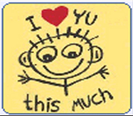 i luv u this much - its the picture she sent me to show how she felt for me.