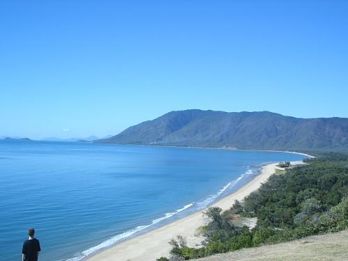 Ellis Beach - Overlooking Ellis Beach, near Cairns in Far North Queensland, Australia. The Whitsunday Islands are in the background.