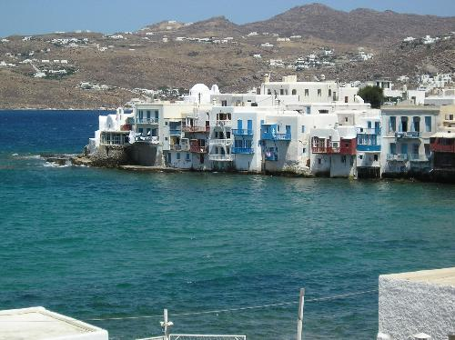 small venice of mykonos - the place of mykonos called small venice with the bars restaurants clubs
