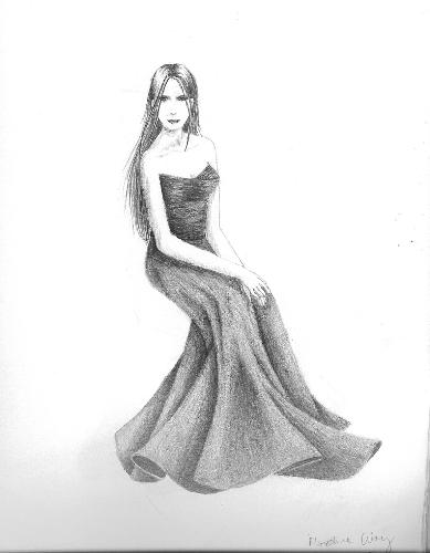 A nice drawing isn't it? - Picture of a girl