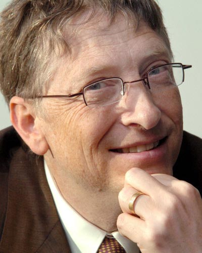Bill Gates - Bill Gates, Microsoft chairman