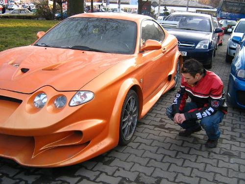 cool car - a very cool car...Hyunday Coupe...highkly tuned...Nitro...Borla Exaust system...16V Turbo....364 Horse power...what can you ask more ?