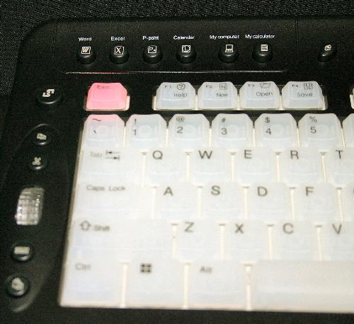 Esc Button Warning - Dont press the Esc button