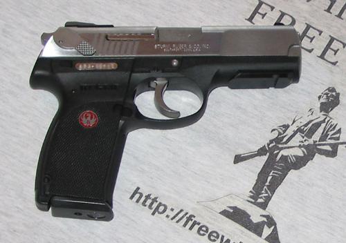 Gun - House Gun, sleek and handy. A beauty(?!) to look at.