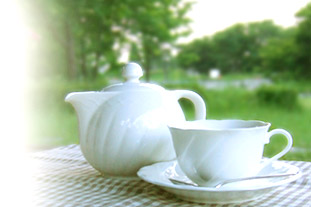 Cup of tea in the morning - cup of tea in the morning