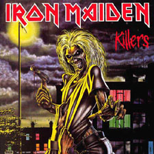 iron maiden-killers - iron maiden .isnt it awesome??