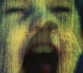 Horror! -  Frightened child.