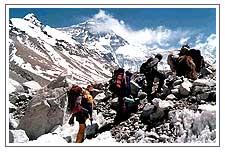 Everest - Trekking in Everest Mountains.