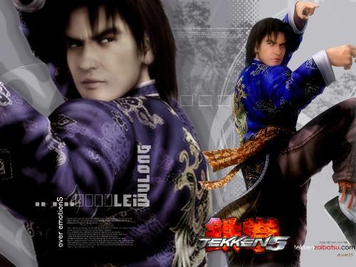 Lei Wulong - Lei in his Drunken Fist stance