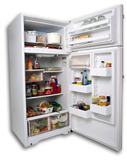 Refrigerator - The picture of the refrigerator