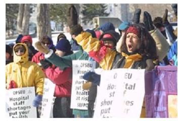 Union People - on strike
