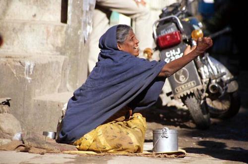 beggar on the street - beggar on the street asking for money