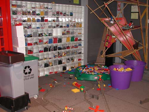 Lego lab At M.I.T - If someone tells you that Lego's are just for kids, tell them that M.I.T. has one of the largest Lego Labs in the country!