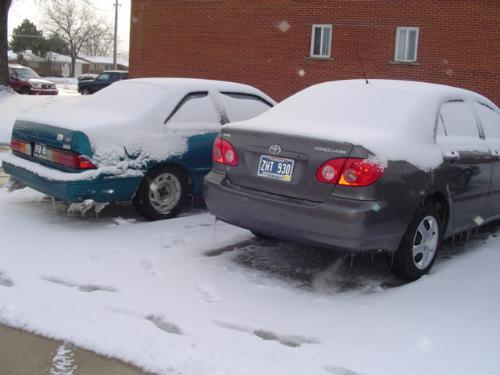 Cars - The cars that I own--- Toyota Corolla 06, and Nissan Altima...