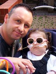 disabled kids - Severely disabled: Charlotte Wyatt's parents fought to keep her alive