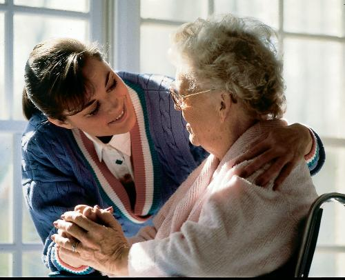 Caregiver - Giving care to all who need it.