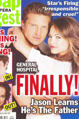 SOD pic of Jason and Liz - Our new cover...Yeah!!!