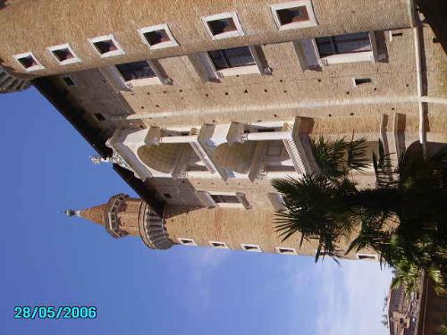 urbino - the palace ducale of urbino