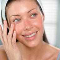 Facial care - Facial care of women