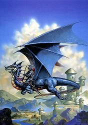 Dragon flying - dragon flying