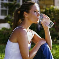 Drink more water - Drinking lots of water is good for health