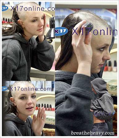 Britney Shaves Her Head  - Britney Shaves Her Head Britney Shaves Her Head Britney Shaves Her Head