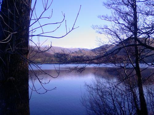 Ullswater - A photo of Ullswater in the Lake District, UK. A february afternoon