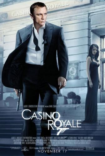 Casino Royale - Daniel Craig in the new Casino Royale, the remake of the James Bond 007 movie with Peter Sellers.