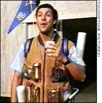 Adam Sandler - Adam Sanler is the Water Boy.  Water sucks it really really sucks...hahaha