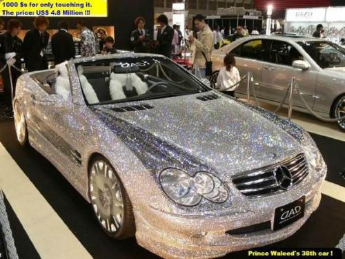 CAR,dreamcar,prince,saudi atabia,saudi prince,doll - very expensive car belongs to a prince.1000 $ for only touching it..price is UD$ 4.8 million.