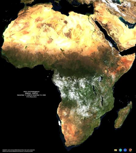 Africa - Africa from Space