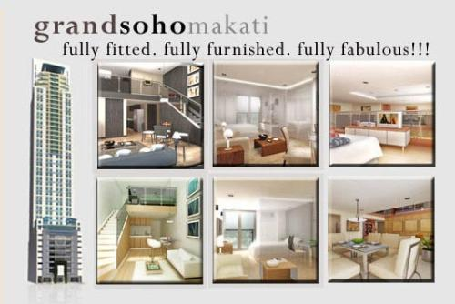 Grand Soho Makati - With this, we would like to mention to you that it is not just a matter of what is sold, but what KIND is sold. Our records boast of projects SOLD OUT in a short period of time.