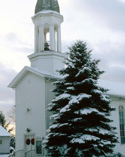 Church - A lovely church at Xmas time
