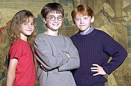 harry - its harry potter with his friends