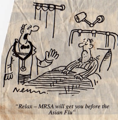 MRSA, Superbugs - superbugs which is increasingly infecting many patients