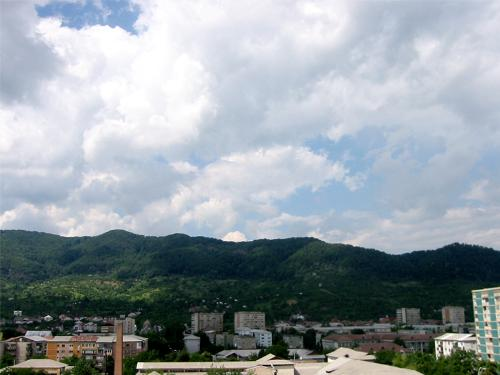 Baia Mare,Romania - THis was taken one summer in a norther city of Romania,called Baia Mare ..and i just love those hills and that cloudy sky