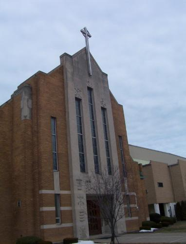 St. Anthony Church - this beautiful church is on the shore of Lake Erie in Lorain Ohio