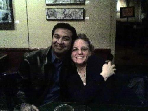 My wife's friend and Boyfriend - Aren't they cute?