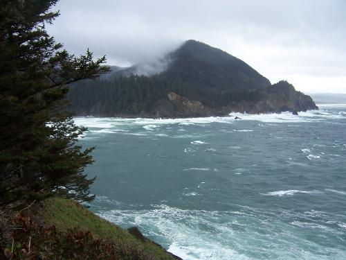 Scenic Pacific Northwest - This photo was taken on a hike along Oregon's northern coast and is similar to what I hope to see during this cruise.