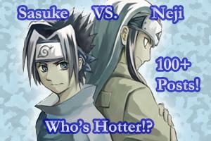 sasuke neji - sasuke vs neji